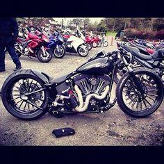Custom Harley | Bobber Inspiration - Bobbers and Custom Motorcycles August 2014