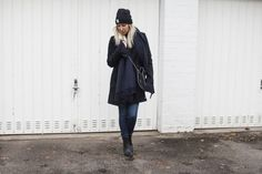 The Black Coat, Desigual, Gringo, bleed, Acne, Good Guys, Stella McCartney, Fair Fashion, Vegan, Trend, navy, Black, ootd, Outfit, lotd, Look, Streetstyle, Winter, Blog, Fashion, stryleTZ