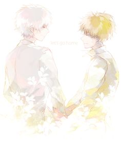 Let's go home. :: Hide and Kaneki // TG