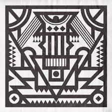 Image result for black and white ndebele patterns