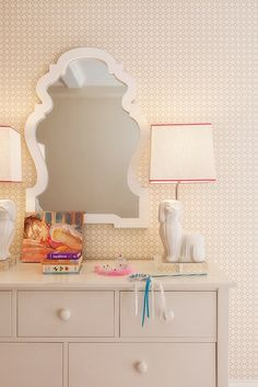Lilly Bunn Interior - girl's rooms - white and pink girls room, white and pink girls bedroom, big girls room, big girl room ideas, queen ann...