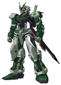 The Astray Green Frame is a Mobile Suit in the manga series Gundam SEED Frame Astrays.