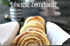 Dänische Zimtkringel - wunderbares Gebäck ganz ohne Hefe und Ei