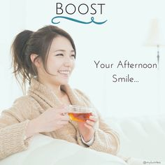 Boost your afternoon smile with LumiTea!