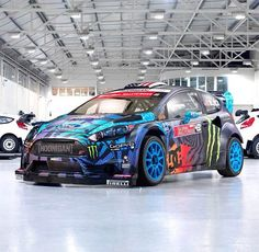 RX43 Fiesta St Rally Cross