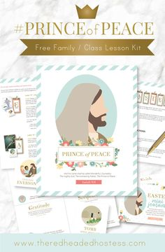 #PRINCEofPEACE: Free Prince of Peace Easter Kits - The Red Headed Hostess