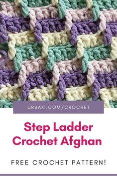 Crochet Square Blanket, Crochet Ripple, Baby Afghan Crochet, Afghan Crochet Patterns, Baby Knitting Patterns, Crochet Yarn, Crocheted Afghans, Crochet Blankets, Baby Blankets