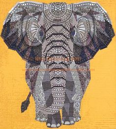 Violet Craft's Elephant Abstractions