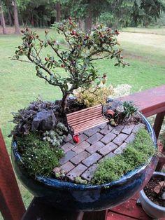 48 Sugestões De Jardins em Miniatura Muito Legais Para Decorar o Ambiente | ROCK'N TECH