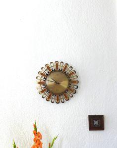 Vintage West German Wall Clock (120.00 EUR) by BerlinoVintage