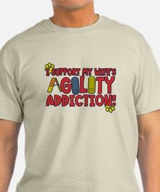 Wife's Agility Addiction T-Shirt for
