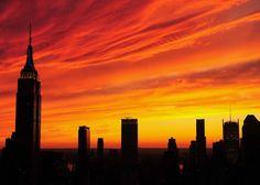 Fire Sky, Empire State Building