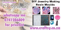 For a full list of all my moulds please whatsapp me 0741286809 or inbox me with email address and I will send the list Resin Molds, Diy Jewelry Making, Email Address, Eyeshadow, Eye Shadow, Eyeshadow Looks, Eye Shadows, Eye Primer, Diy Jewelry