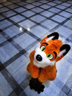 Lil' fox fursuit!!I am working on another one right now(this suit is NOT mine!!)