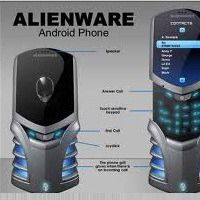 Alienware Mobile Phone design built on Android - the familiar look of the Alienware computers with a glowing grill when calls come in, a a slide-up display to reveal a touch-sensitive keypad, a joystick for mobile gaming. These look to be just designs for Geek Gadgets, High Tech Gadgets, Gadgets And Gizmos, Electronics Gadgets, Computer Gadgets, Fun Gadgets, New Technology Gadgets, Futuristic Technology, Cool Technology