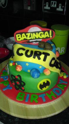 - the big bang theory themed cake