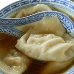 "Wonton Soup with a Kick | ""LOVED this soup! I just threw the wontons in the broth, and that worked fine for me."""