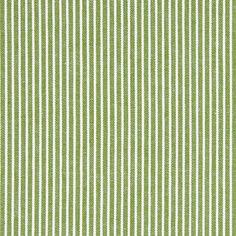 Denim Streifen 3 - Baumwolle - hellgrün