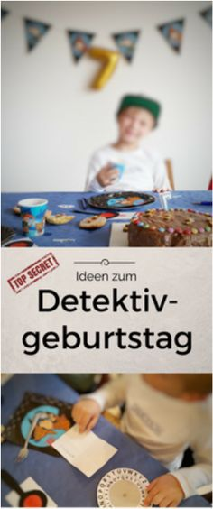 Everything for a successful detective birthday! Everything tried and with instructions . - Everything for a successful detective birthday! Everything tried and with instructions! Games For Kids, Diy For Kids, Crafts For Kids, Appetizers For Kids, Party Quotes, Diy Birthday Decorations, Super Party, Diy Party, Kids And Parenting