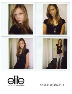 TBT | Models' First Polaroids with Kate Upton, Karlie Kloss, Miranda Kerr + More
