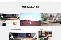 Merryweather - Blogging Theme by themehub on Creative Market