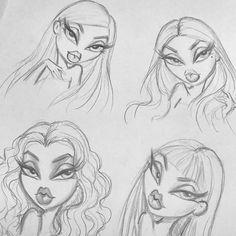 A imagem pode conter: desenho Art Drawings Sketches Simple, Pencil Art Drawings, Cool Drawings, Hipster Drawings, Cool Sketches, Beautiful Drawings, Cartoon Drawings, Arte Inspo, Arte Sketchbook