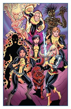 New Mutants by calslayton on DeviantArt