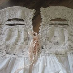 Romantic Farmhouse Antique Nightgown Nightdress Handmade Lace Antique Clothing, Nightgown, Online Price, Farmhouse, Romantic, Antiques, Best Deals, Lace, Handmade
