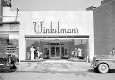 Detroit shopping: Winkelmans....my first retail job in college