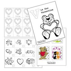 valentine activities for tot (free printables)