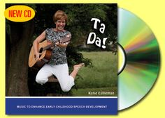 CD's written by music therapist and mom of daughter with apraxia