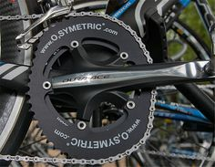 Asymmetrical chain-rings 10% more efficient...