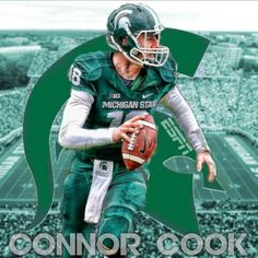 Connor Cook. Not someone I want to bone, but he was the MVP of this year's Rose Bowl. #spartinswill #michiganstateuniversity