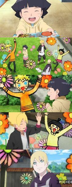 Inojin brings to life Himawari's Drawing So cute ❤️ Boruto Episode 33