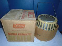 Vintage Coleman Catalytic Heater. 5000 - 8000 BTU Coleman Heater .  Heater #Coleman