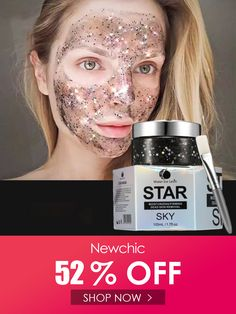 Star Mask Glitter Gold Peel off Black Face Mask From Black Dots Blackhead Remover Face Care Glitter Face, Gold Glitter, Off Black, Black Dots, Face Care, Skin Care, Blackhead Remover, Anti Wrinkle, Beauty Skin