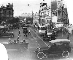 1920's Bs. As., Plaza Once, cerca de 1920