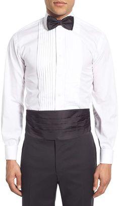 Burgundy Cummerbund Tuxedo Shirt Cuff Links /& Studs #901 Bow-Tie