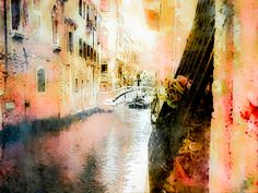 """Venice Italy Fine Art Photography Print: """"Secrets of Venice"""" by ShannonHowardPrints on Etsy"""