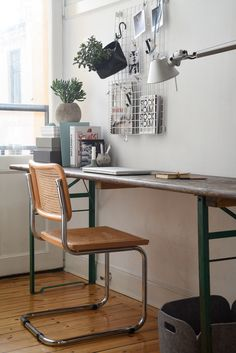 4 Everyday Swedish Design Staples For Creating A Scandinavian Home Decor, Workspace Design, Workspace Inspiration, Scandinavian Home, Swedish Design, Home Decor, Home Office Design, Scandinavian Office, Office Design