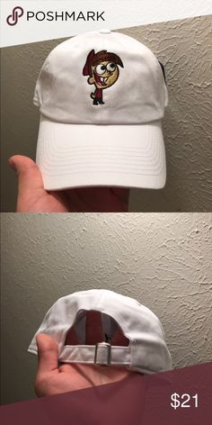 cd3a87c66ea Timmy Turner Dad hats strapback caps 100% cotton high quality caps Timmy  turner cap Color