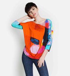 I Know You Know Drape Top by Claire Desjardins. XS-XXL. #clairedesjardins #clairedesjardinsart #ClaireDesjardinsApparel #DesignerJacket #JeanJacket #cami #WomensApparel #WearableArt #designerclothing #apparel #designerapparel #artandfashion #fashionandclothing #artonclothing #abstractart #abstractpainting #designerclothes #womensapparel #Tunic #Dress #Jacket #MotoJacket #WomensTop