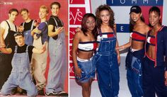 90s  | ... Beyonce and Destiny Child looked chic back in 90s even in dungarees