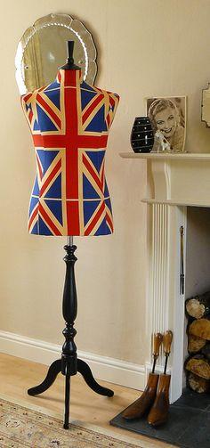 Union Jack mannequin
