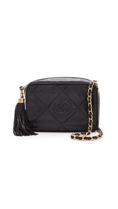 4007c2f9db49 Vintage Chanel Tassel Bag Vintage Chanel