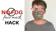NO FOG FACE MASK | Simple Hack That Really Works - YouTube
