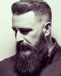33 Trendy Undercut Hairstyles To Compliment Your Beard Right Now Penteados Undercut Para Homens Beard Styles For Men, Hair And Beard Styles, Bart Styles, Best Undercut Hairstyles, Undercut With Beard, Beard Cuts, Trimming Your Beard, Long Beards, Beard Lover