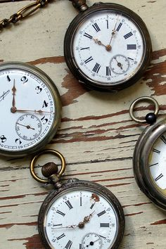 Vintage Pocket Watch by Teen's, via Flickr
