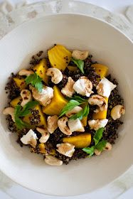 Scandi Home: Quinoa with Golden Beets and Goat Cheese