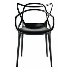 top3 by design - Kartell - Philippe Starck - masters chair black